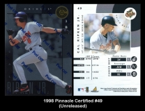 1998 Pinnacle Certified #49