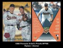 1998 Pinnacle Artists Proofs #PP86