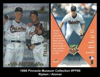 1998 Pinnacle Museum Collection #PP86