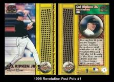 1998 Revolution Foul Pole #1