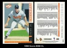 1998 Score #268 CL