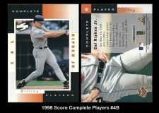 1998 Score Complete Players #4B