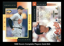 1998 Score Complete Players Gold #4A