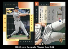 1998 Score Complete Players Gold #4B