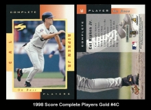 1998 Score Complete Players Gold #4C
