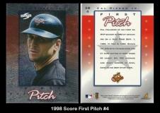 1998 Score First Pitch #4