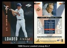 1998 Score Loaded Lineup #LL7