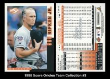 1998 Score Orioles Team Collection #3