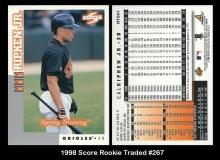 1998 Score Rookie Traded #267
