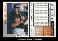 1998 Score Rookie Traded #28