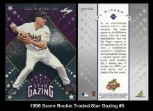1998 Score Rookie Traded Star Gazing #5