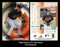 1998 Select Four Star #232