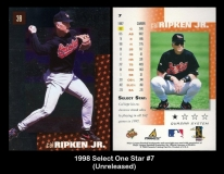 1998 Select One Star #7