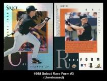 1998 Select Rare Form #3