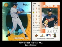 1998 Select Two Star #107
