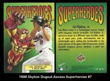 1998 Skybox Dugout Axcess Superheroes #7