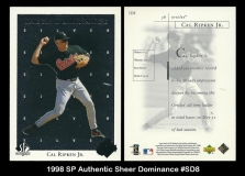 1998 SP Authentic Sheer Dominance #SD8