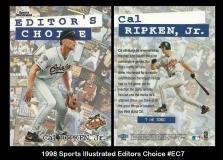 1998 Sports Illustrated Editors Choice #EC7