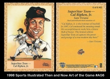 1998 Sports Illustrated Then and Now Art of the Game #AG6