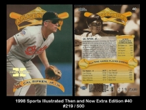 1998 Sports Illustrated Then and Now Extra Edition #40