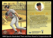 1998 Sports Illustrated Then and Now Road to Cooperstown #9
