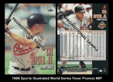 1998 Sports Illustrated World Series Fever Promos #8P