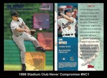 1998 Stadium Club Never Compromise #NC1