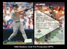 1998 Stadium Club Pre-Production #PP3