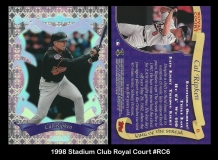 1998 Stadium Club Royale Court #RC6