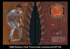 1998 Stadium Club Triumvirate Luminescent #T13A
