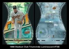 1998 Stadium Club Triumvirate Luminescent #T5B