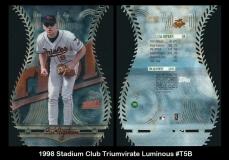 1998 Stadium Club Triumvirate Luminous #T5B
