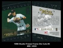 1998 Studio Freeze Frame Die Cuts #4