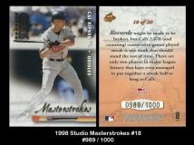 1998 Studio Masterstrokes #18