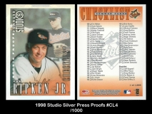 1998 Studio Silver Press Proofs #CL4