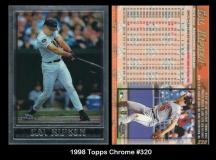 1998 Topps Chrome #320