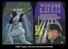 1998 Topps Chrome Hall Bound #HB6