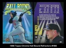 1998 Topps Chrome Hall Bound Refractors #HB6