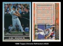 1998 Topps Chrome Refractors #320