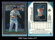 1998 Topps Gallery #77