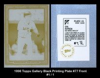 1998-Topps-Gallery-Black-Printing-Plate-77-Front