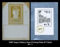 1998-Topps-Gallery-Cyan-Printing-Plate-77-Back