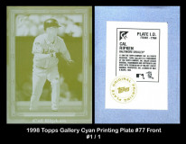 1998-Topps-Gallery-Cyan-Printing-Plate-77-Front