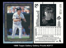 1998 Topps Gallery Gallery Proofs #GP77