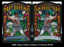 1998 Topps Gallery Gallery of Heroes #GH9
