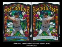 1998 Topps Gallery Gallery of Heroes Jumbos #GH9