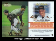 1998 Topps Gold Label Class 1 #29