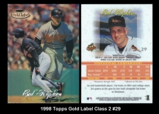 1998 Topps Gold Label Class 2 #29