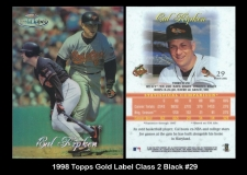 1998 Topps Gold Label Class 2 Black #29