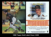 1998 Topps Gold Label Class 3 #29